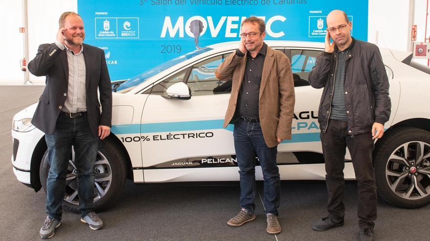 Presentación del Salón del Vehículo Eléctrico del Cabildo de Gran Canaria