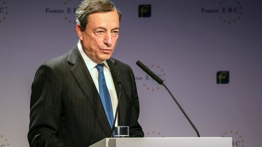 El BCE revisa a la baja los pronósticos de crecimiento de 2018 y 2019
