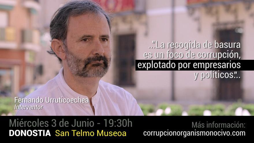Fernando Urruticoechea ofrece su testimonio como interventor en varios ayuntamientos del País Vasco.