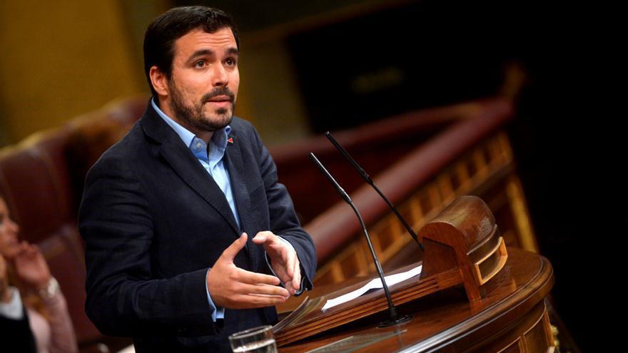 Alberto Garzón, uno de los principales rostros de Unidos Podemos