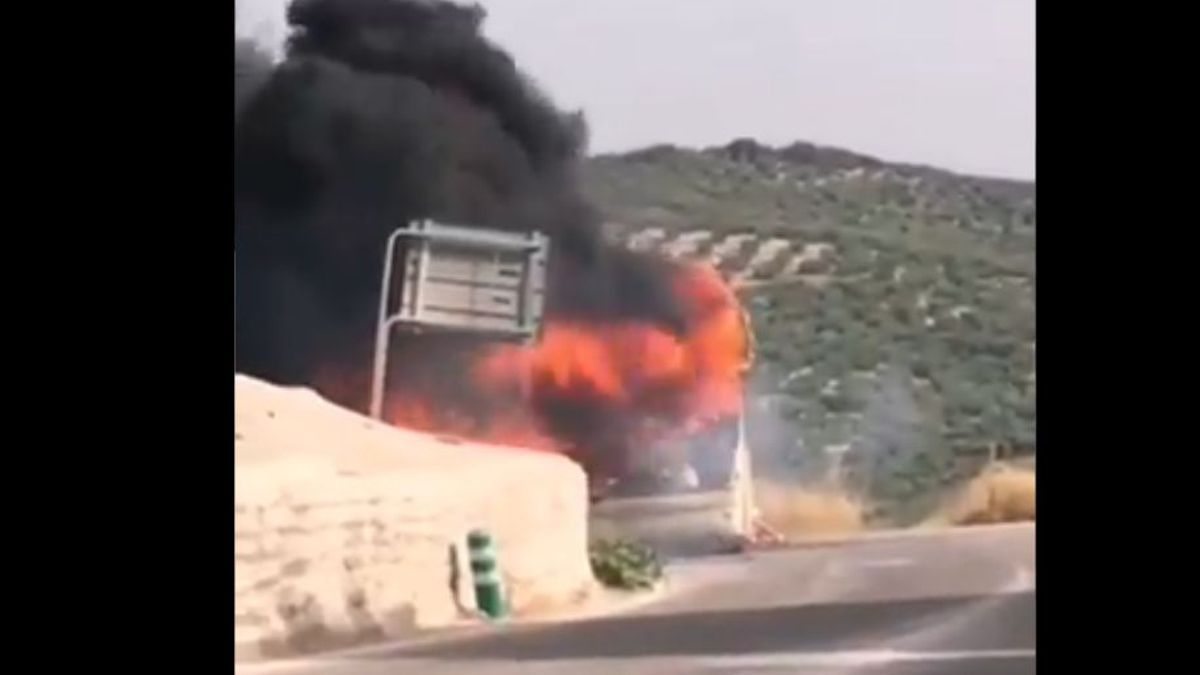 Incendio del autobús en Rute