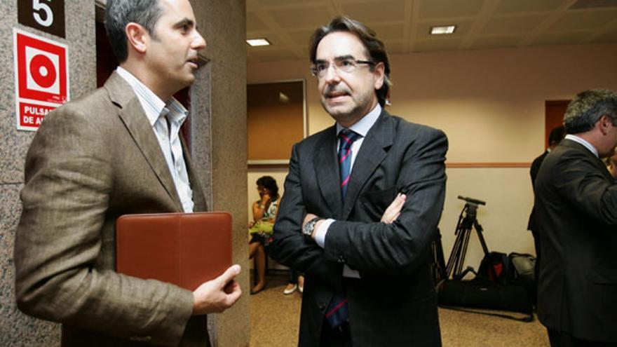Luis Soria, antes de declarar