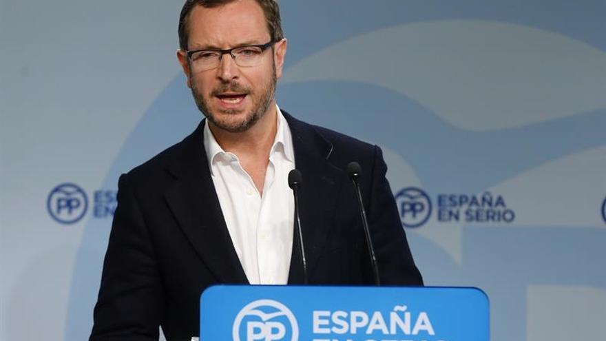 Javier Maroto, vicesecretario sectorial del PP.