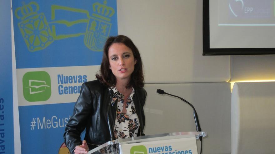 """Andrea Levy (PP) dice que Mas busca """"enemigos fuera"""" porque """"hoy va a escribir sus últimas páginas como político"""""""