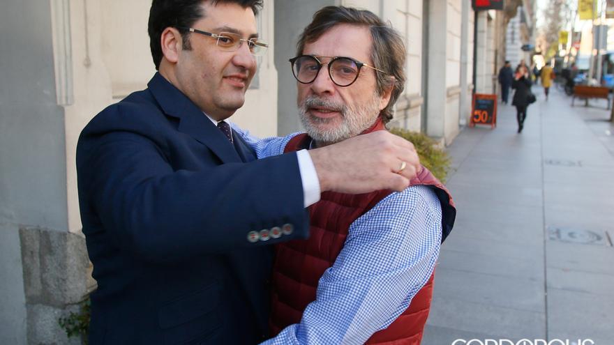 León y González, tras la compraventa del Córdoba en enero de 2018 | MADERO CUBERO