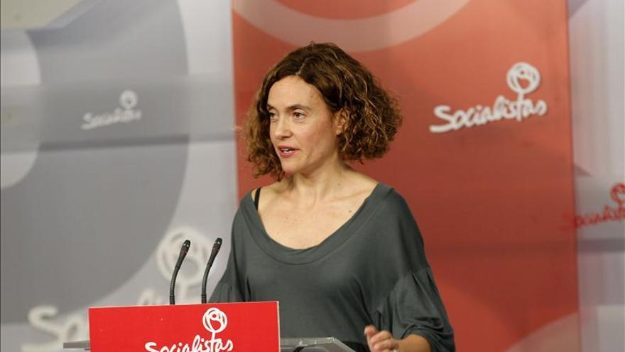 """El PSOE cree que Rajoy va """"tarde y mal"""" a Cataluña"""