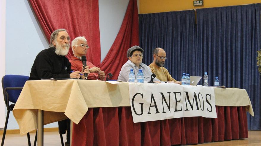 Mesa de Coordinación de Ganemos la Región de Murcia, en la II Asamblea celebrada en Archena / PSS