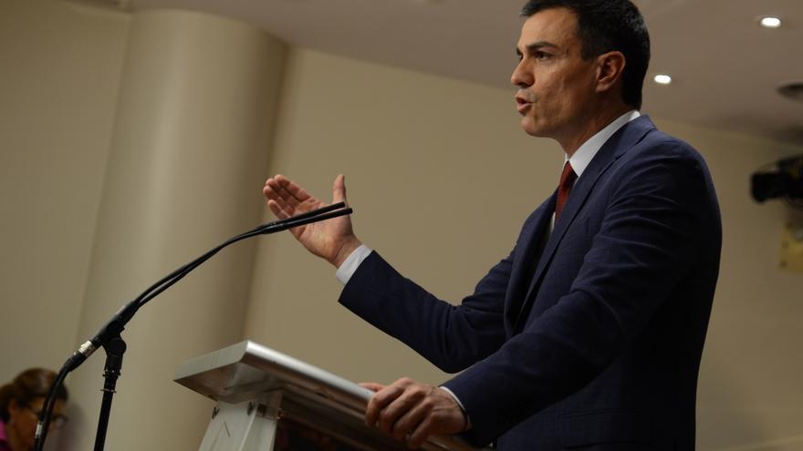 """Pedro Sánchez insiste en que no hay gobierno porque en Podemos ha triunfado """"el ala dura de Iglesias y Monedero"""""""