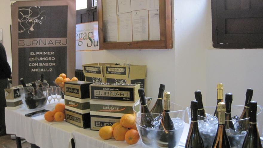 Burnarj es el primer espumoso hecho con zumo natural de naranja.