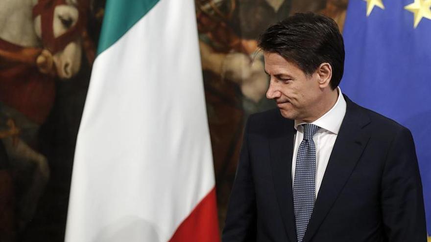 Conte confirma reunión con Macron en París en medio de la tensión diplomática