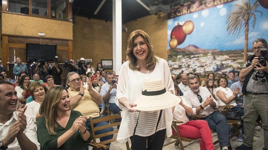 Susana Díaz llama a recuperar una sanidad pública al servicio del ciudadano