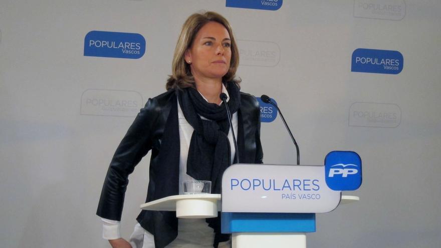 """Quiroga (PP) insiste en que el """"encaje"""" de Euskadi """"ya está solucionado"""""""