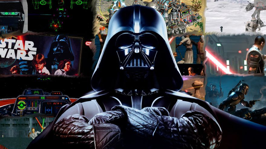 report star wars videojuegos portada