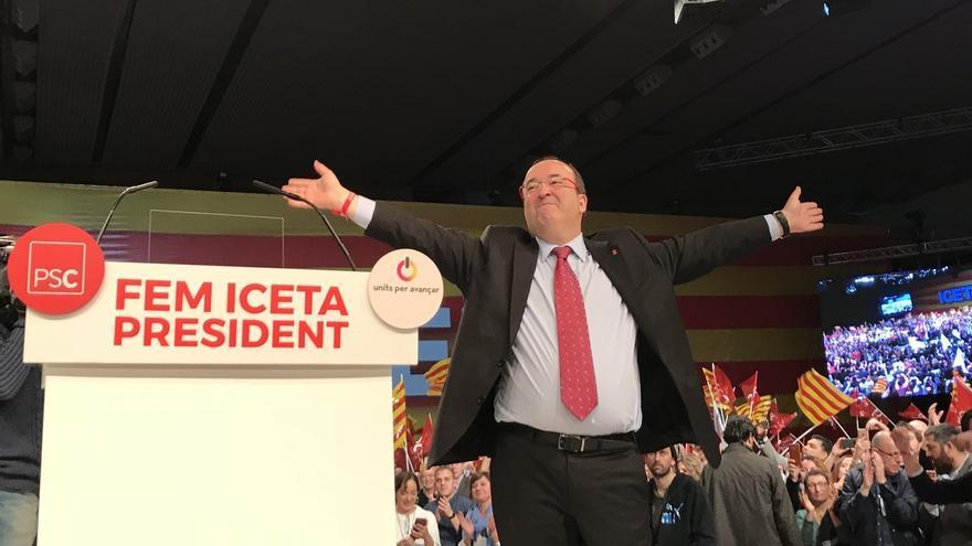"""Iceta reivindica el catalanismo para que Cataluña """"vuelva a ser rica y plena"""""""