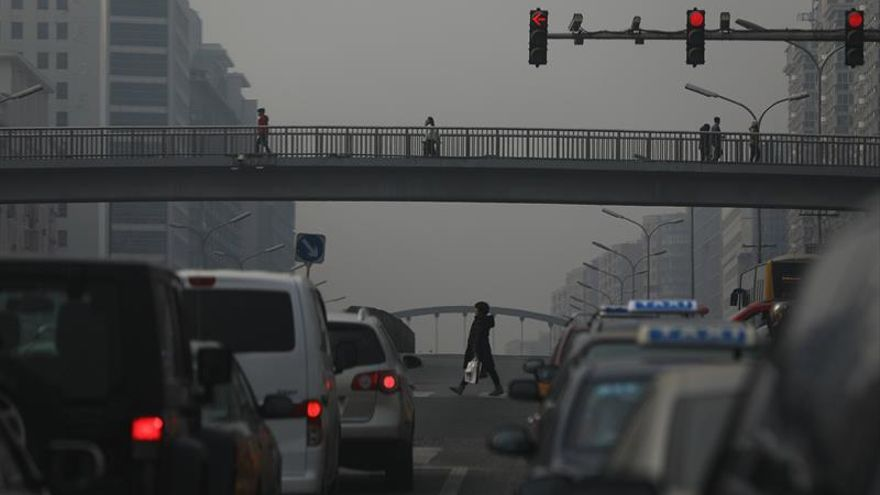China, bajo la contaminación