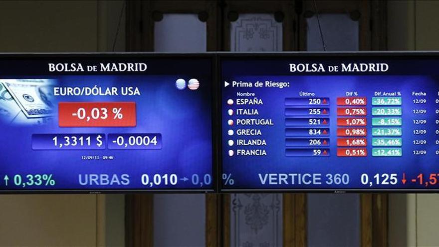 La prima de riesgo de España abre sin cambios, en 236 puntos básicos