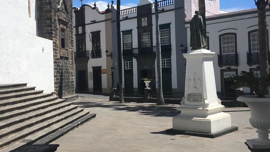 Plaza de España de Santa Cruz de La Palma.