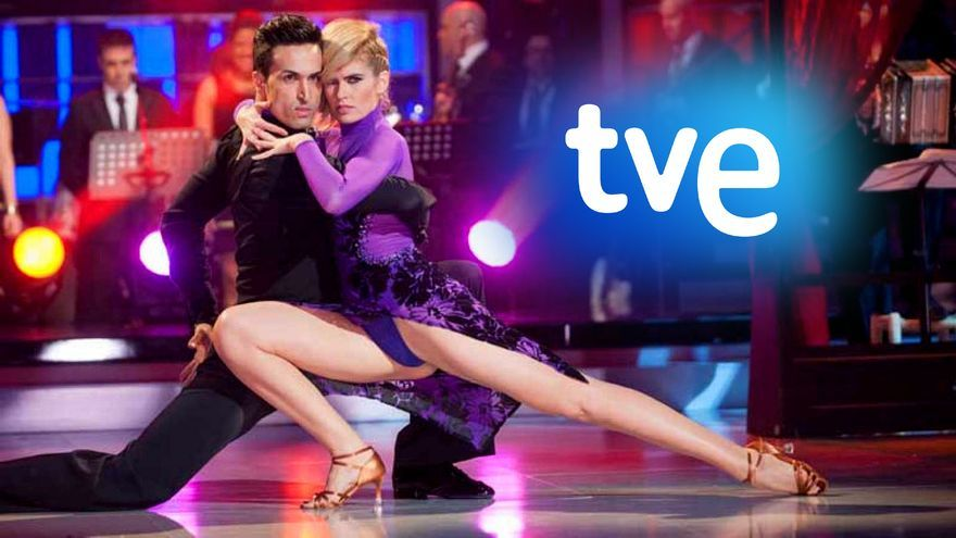 Dos concursantes de '¡Mira quién baila!' en 2014 en TVE
