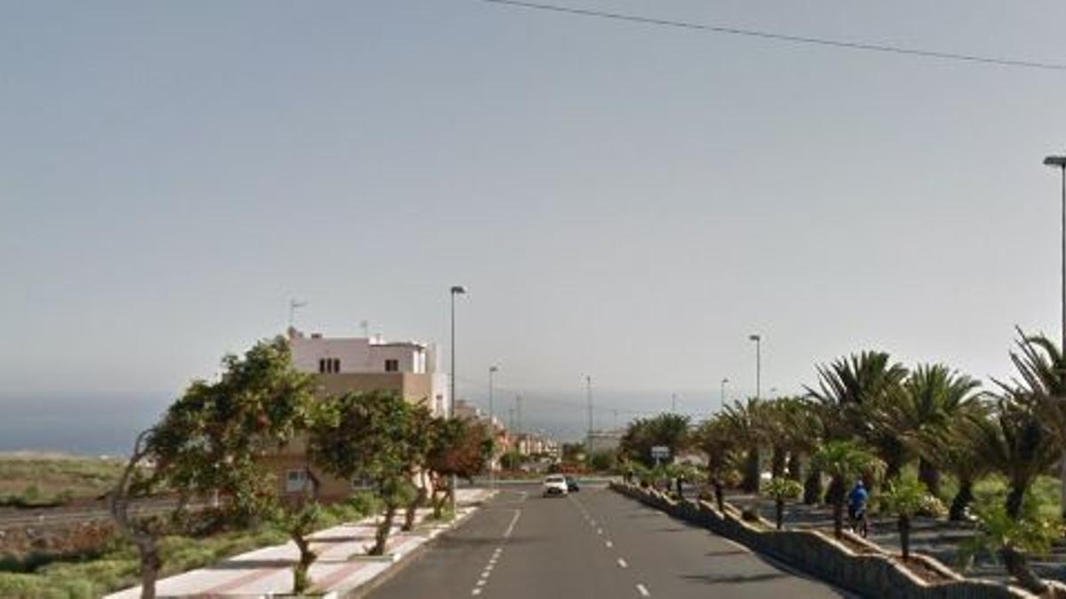 Avenida de los Artesanos, en Ingenio