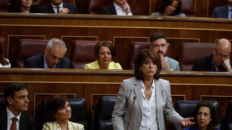 """Delgado:""""El Gobierno respeta autonomía de fiscales e independencia de jueces"""""""