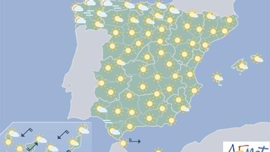 Fin de semana sofocante en Levante, hasta 40 grados, y tormentas en el norte del país