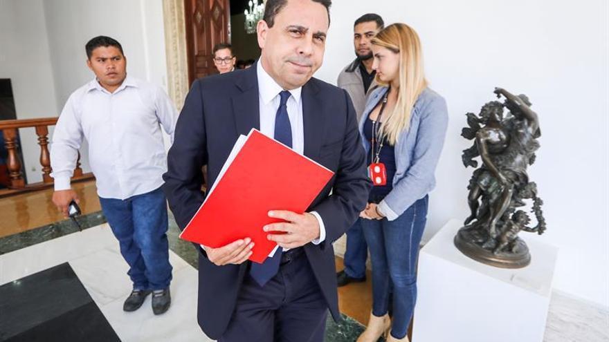 Moncada presenta sus credenciales como nuevo embajador de Venezuela en la ONU