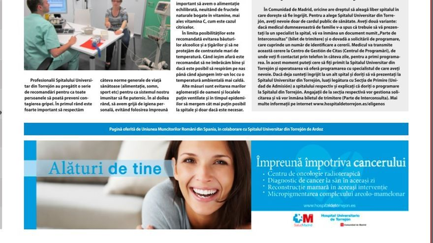 Anuncio en la publicación 'El rumano en España'