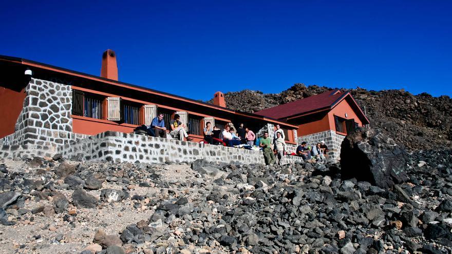 Refugio de Altavista, en El Teide. VIAJAR AHORA