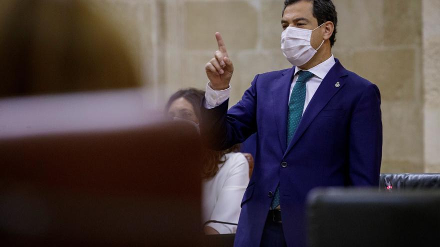 """Moreno, sobre las elecciones: """"Andalucía no está para megáfonos y pancartas"""""""