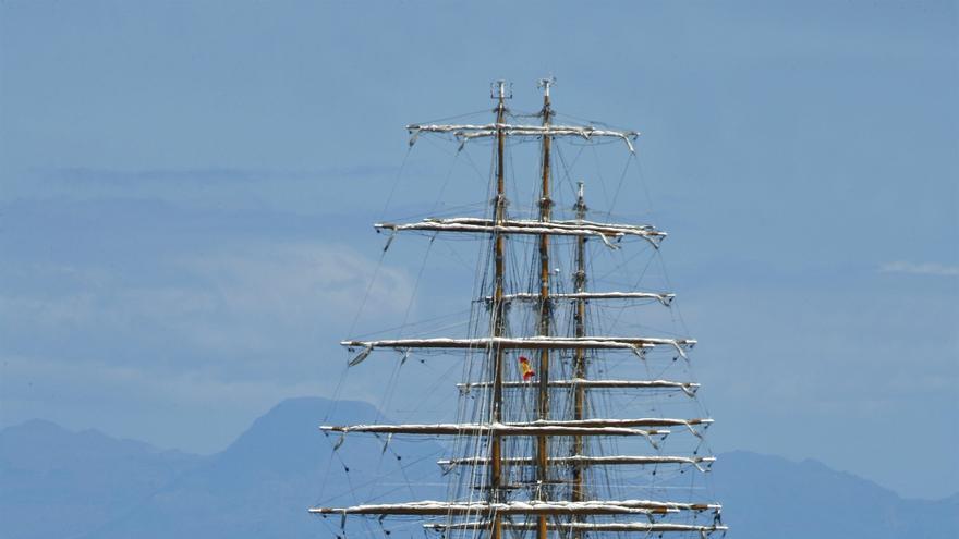 Imagen de archivo del buque escuela argentino