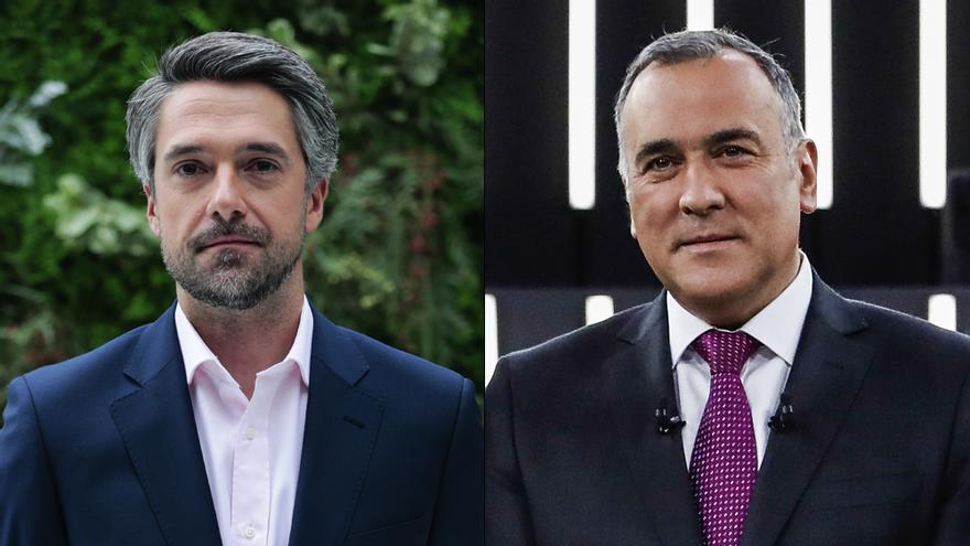 Carlos Franganillo y Xabier Fortes