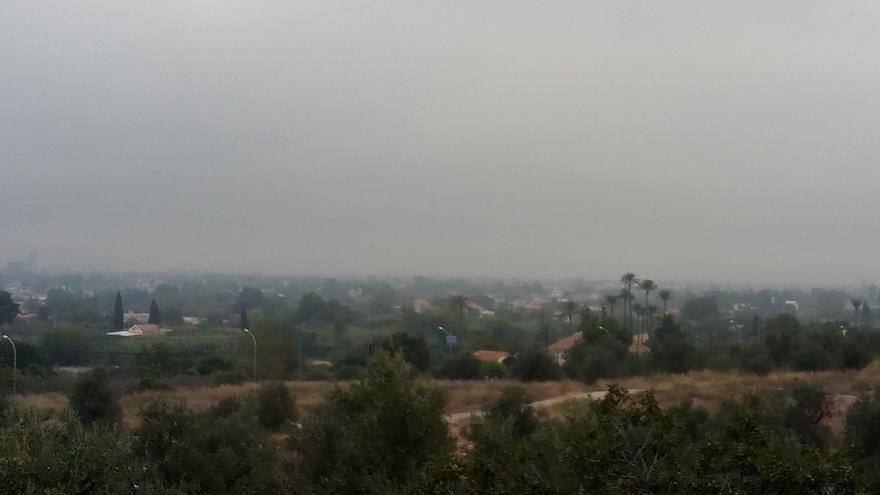 Contaminación en la ciudad de Murcia
