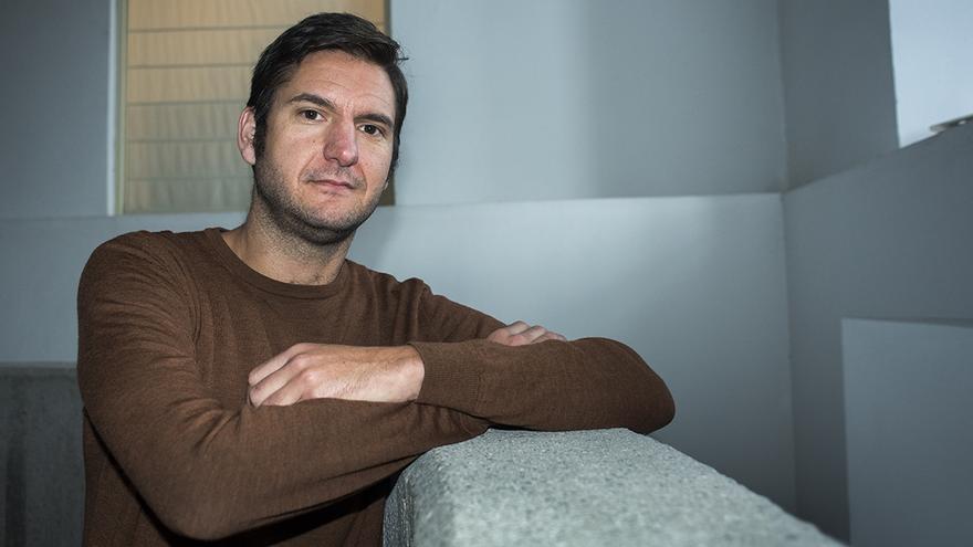 Alberto Gavín, coordinador del Consejo Ciudadano Autonómico de Podemos | JOAQUÍN GÓMEZ SASTRE