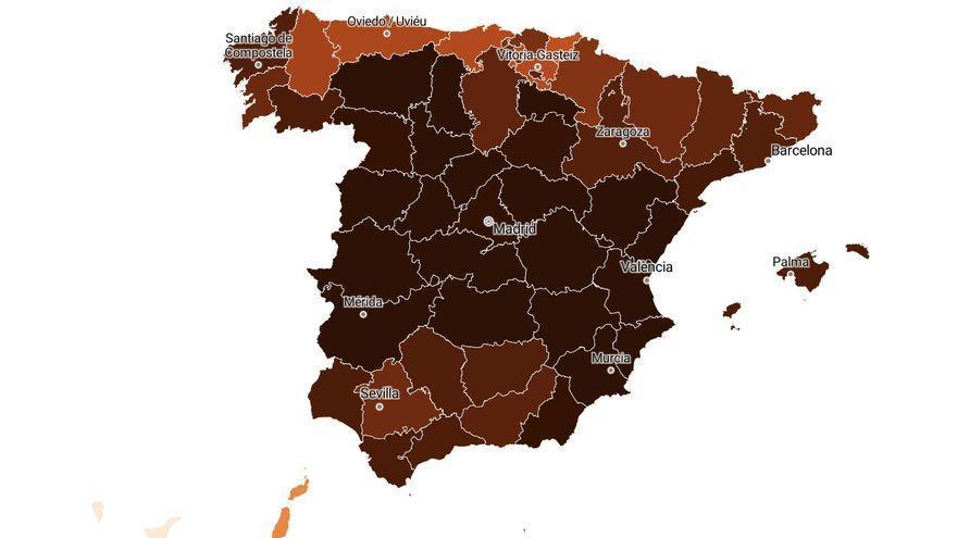 Los casos aumentan más de un 140% en la provincia de Las Palmas en las últimas dos semanas