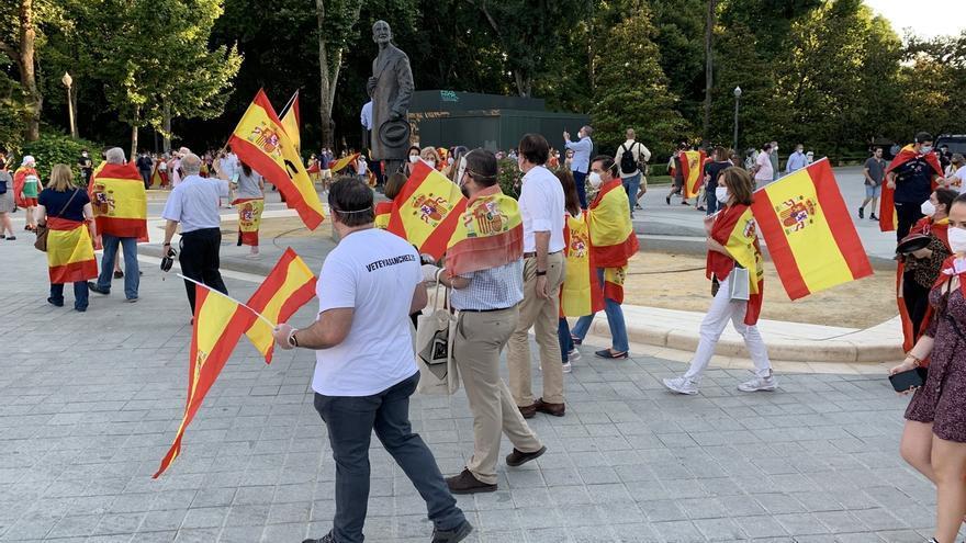Varias decenas de personas celebran una nueva protesta contra el Gobierno en Sevilla