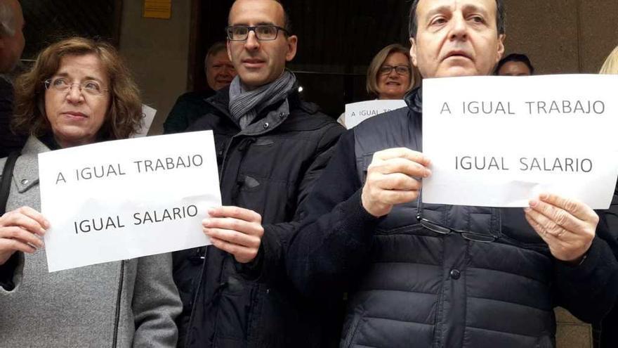 Protesta funcionarios Albacete