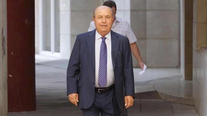 Torres Hurtado acudiendo a declarar | Europa Press