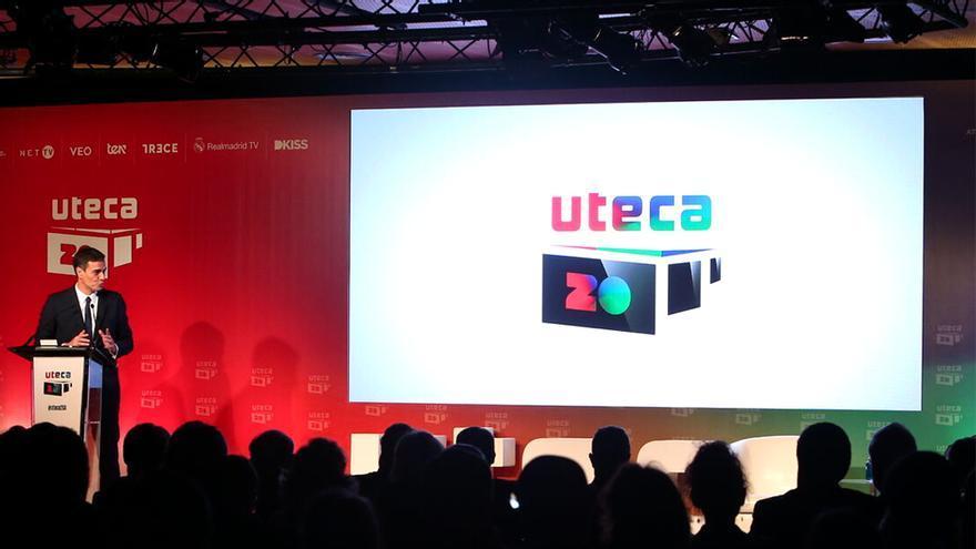 Pedro Sánchez, en un evento de UTECA