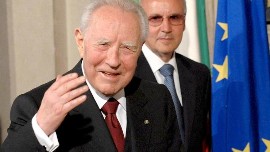 Muere el expresidente italiano Carlo Azeglio Ciampi a los 95 años