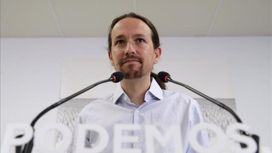 Iglesias comunica a Zarzuela que no asistirá a actos oficiales del 12 octubre