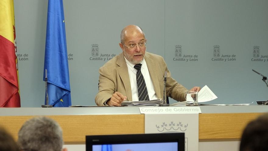 Francisco Igea durante la rueda de prensa posterior al Consejo de Gobierno de la Junta.