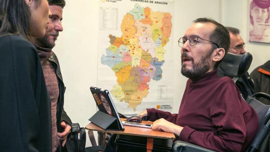Echenique: Con otro PSOE habría sido una opción entrar en el gobierno