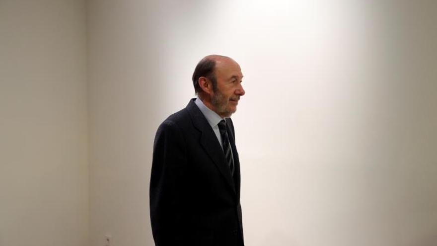 Rubalcaba dedicó los últimos años a la docencia, a veces enseñando política