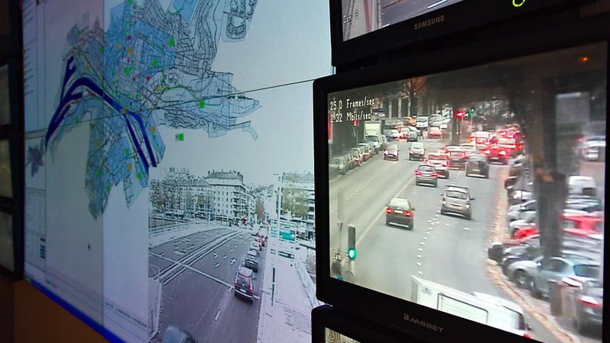 Videovigilancia del tráfico