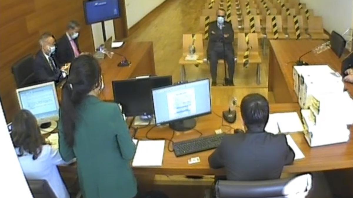 Carlos Fabra davant el magistrat Jabobo PIn.