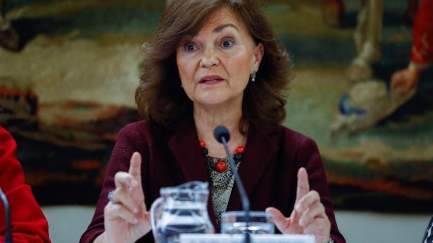 """Calvo: España tiene que tener una ley contra la trata """"cuanto antes mejor"""""""