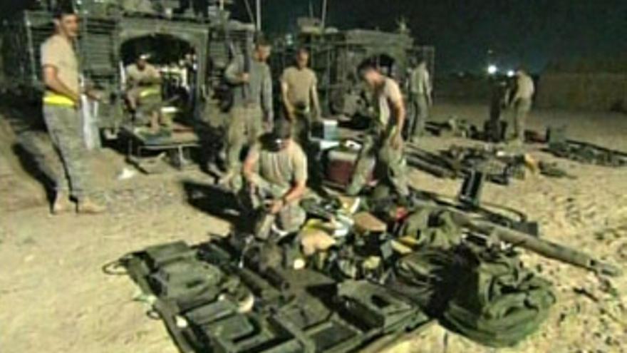 Los soldados de combate de EEUU se retiran de Irak