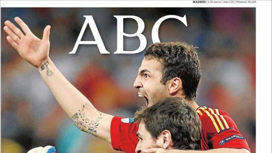 De las portadas del día (28/06/2012) #6