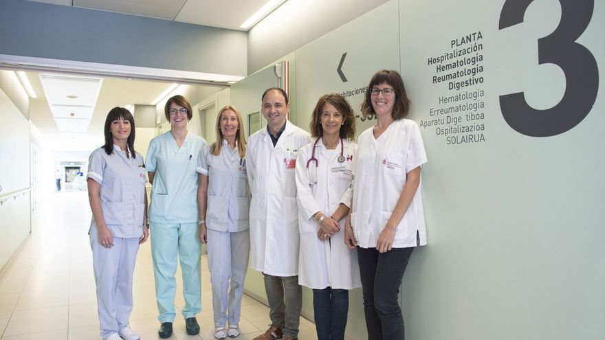 La Unidad de Enfermedad Inflamatoria Intestinal del CHN obtiene una certificación por la calidad de sus servicios