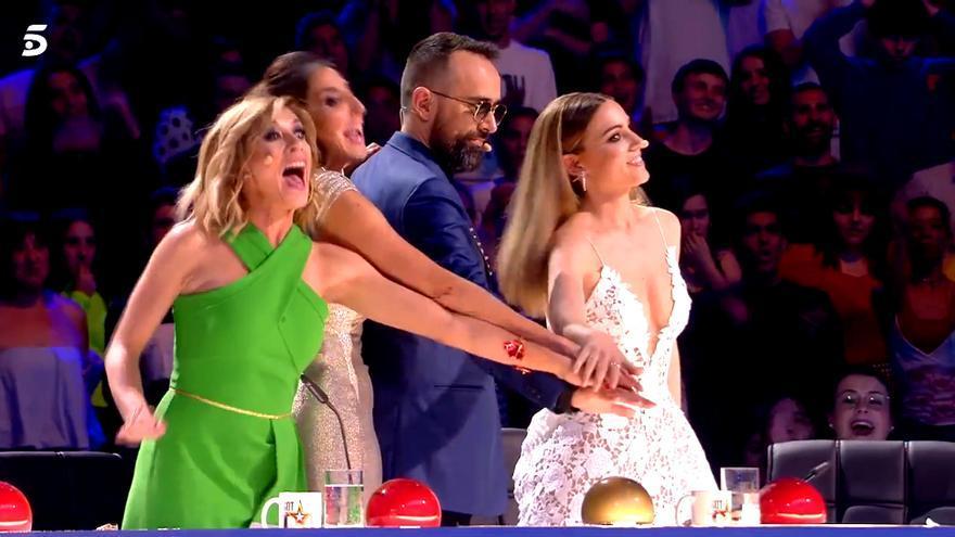 Los jueces de Got Talent 4